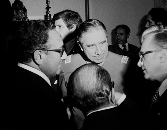 Kissinger et Pinochet